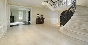 Botticino marmorist trepp