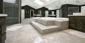 Bianco Carrara kakel för golv