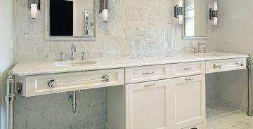 Bianco Carrara vägg kakel