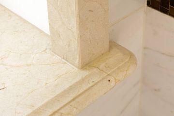 Crema Marfil marble window board