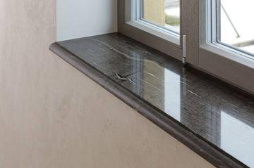 Brown Silk window sill