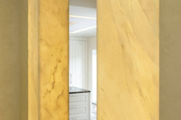 Mystic White marble translucent wall panels